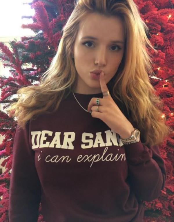Rad Dear Santa I Can Explain Sweater