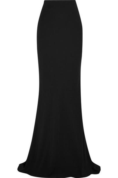 Alexander Mcqueen skirt maxi skirt maxi black