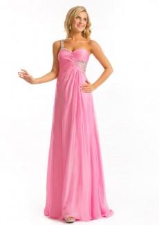 Sheath sleeveless bateau appliqued prom dresses