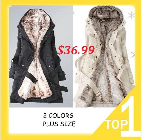 hot vente 2013 doublure en fausse fourrure femmes hiver chaud long manteau de fourrure veste vêtements en