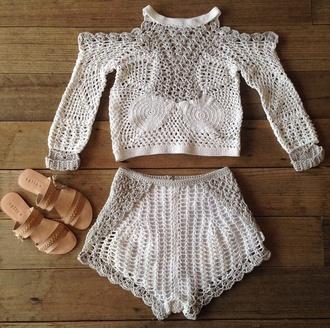 top knitwear white