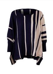 Sirenlondon — yasmina stripe poncho
