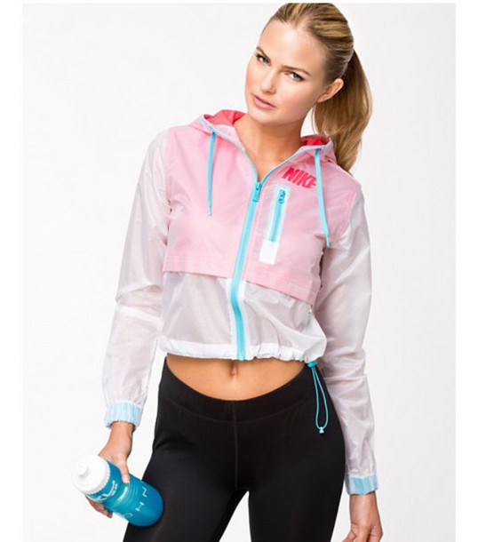 jacket nike nike jacket crop tops kawaii nike running shoes tumblr outfit tumblr tumblr clothes tumblr girl pink dress pink jacket athletic outfit High waisted shorts hair accessory home accessory grunge t-shirt alternative