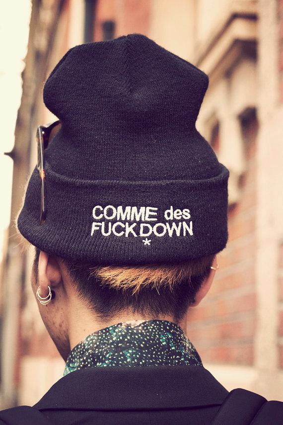 COMME des FUCKDOWN by ASAPROCKY on Etsy