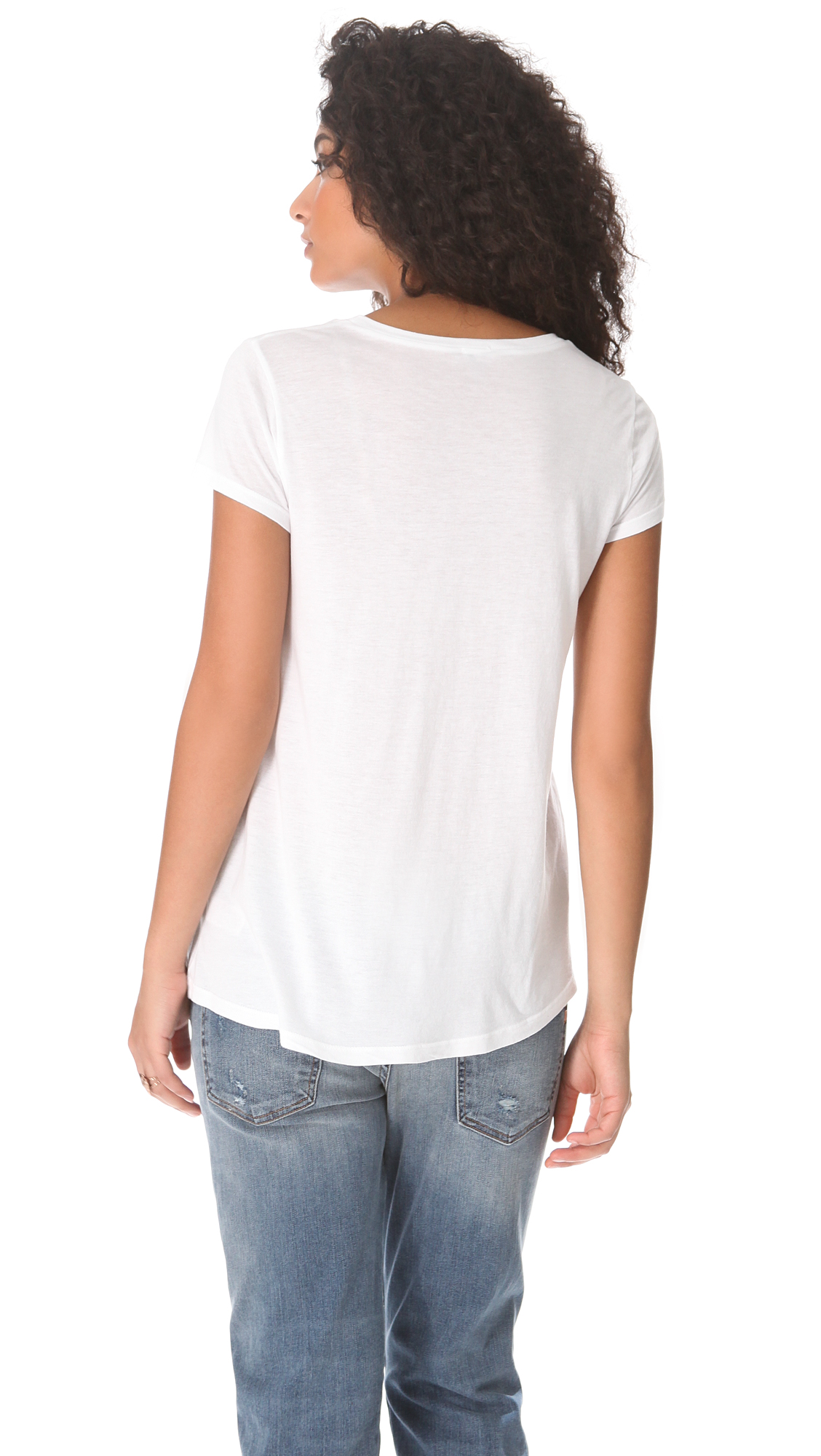 Splendid Very Light Jersey Tee | SHOPBOP
