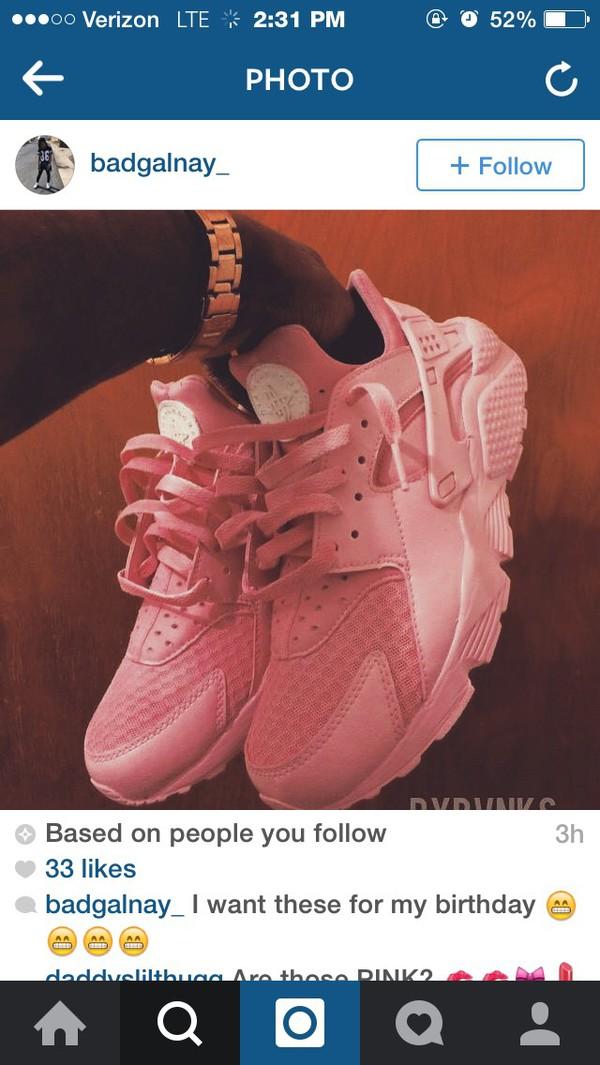 Nike Huarache Rosa Damen