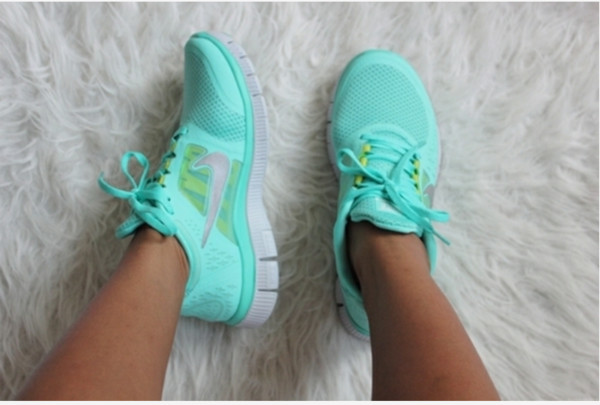 shoes nice nike free run hot punch sneakers nike free mint style
