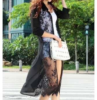 cfa19f8d8 Beautiful Crochet Lace long kimono cardigan from DoubleLW on Storenvy