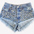 All Over Studded Cheeky Shorts - One of a Kind | RUNWAYDREAMZ