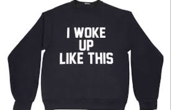 i woke up like this black beyoncé shirt t-shirt