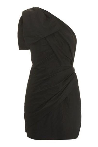 Topshop dress bodycon bodycon dress bow black