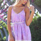 Sabo skirt  lilac clouds playsuit - lilac - 52.0000