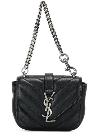 college mini bag black