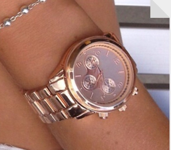 jewels gold watch watch