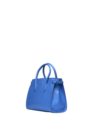 light blue light blue bag
