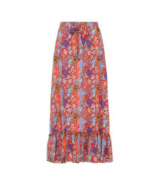 ETRO skirt maxi skirt maxi cotton