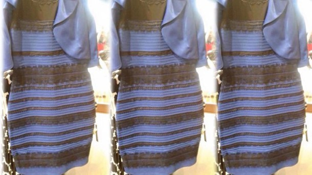 dress fucking ugly dress white gold blue black ugly horrible what do you see??