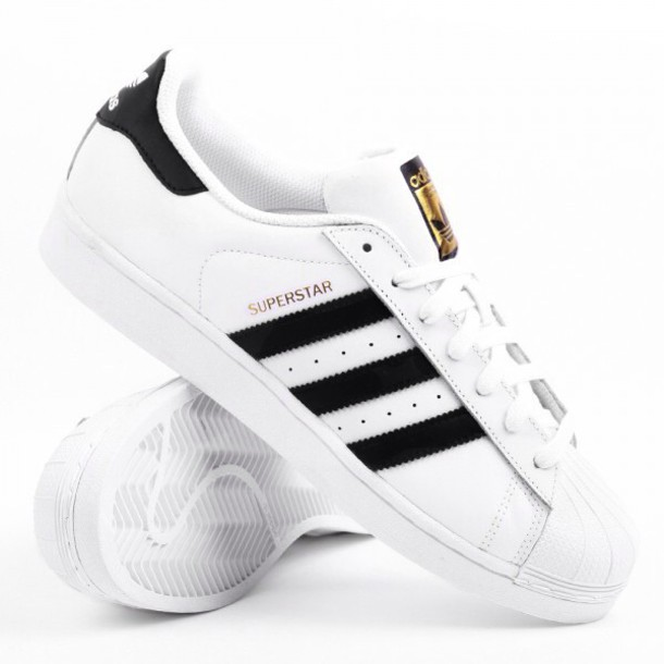 7c038d19369 shoes, adidas superstar dames black white, adidas superstars ...