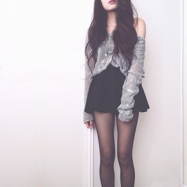 blouse cute skirt oversized sweater casual underwear cardigan