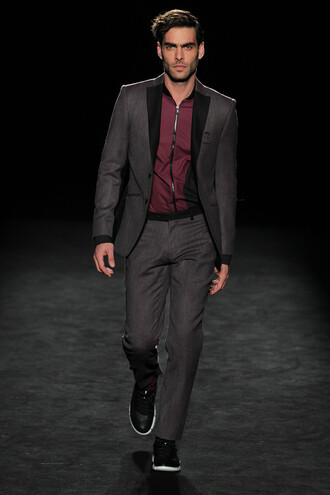 jacket pants suit menswear shirt fashion week 2016