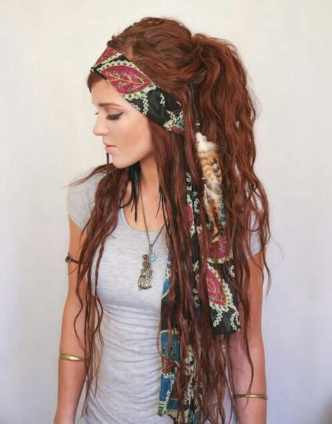 hair accessory hairstyles dreads dreadlocks red hair jewels edit tags