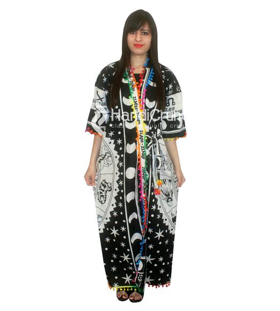 315854f0d3 dress black dress mandala kimono robe mandala cotton long kimono beach wear  indian cotton bath robe