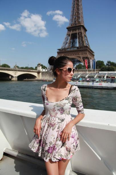 chic muse dress sunglasses shorts
