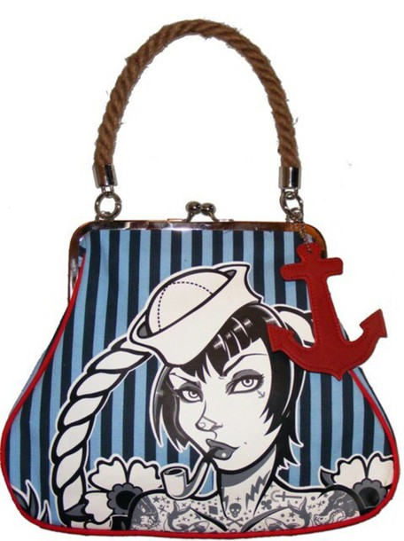 bag too fast sailor anchor Pin up