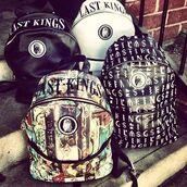 bag,last kings,backpack,tyga,school bag,lovely pepa,wedding dress,fashion,white bag
