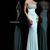 Beaded High Neckline Jersey Evening Gown 21251 [Jersey Evening Gown SH 21251] - $172.00 : Discover Unique Dresses Online at PromUnique.com