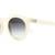 The T.V. Eye - Agenda WMNS Semitranslucent White w/ Grey Gradient CR-3 | CRAP Eyewear