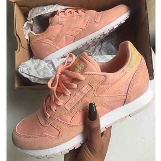 shoes nude pink nude pink reebok shoes sneakers reebok sneakers reebok pastel pink reebok shoes
