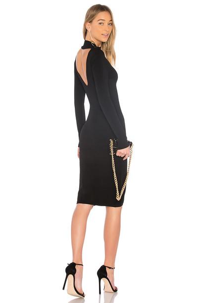 Autumn Cashmere dress turtleneck dress black