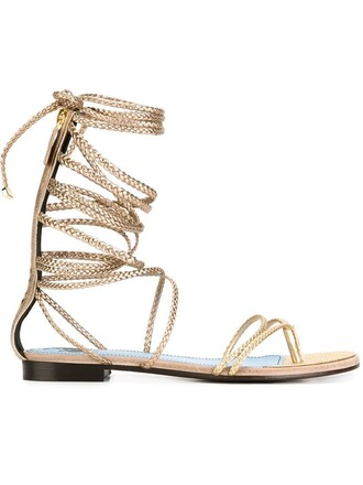 strappy braided sandals strappy sandals metallic shoes