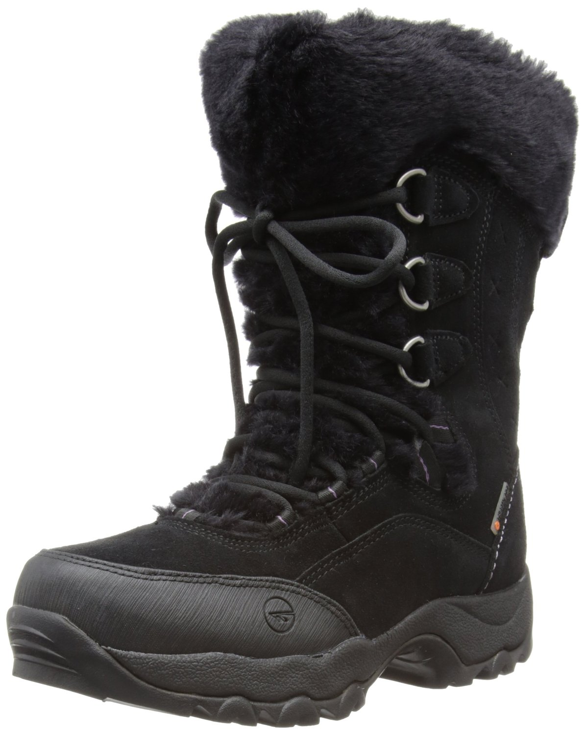 Tec womens st moritz 200 ii waterproof trekking and hiking boots o002856/021/01 black/clover 5 uk, 38 eu: amazon.co.uk: shoes & bags