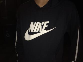 romper pale nike hood hoodie nikehood bw tumblr