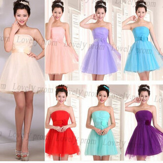 dress bridesmaid short prom dress prom dress prom dress 2016 evening dress tulle prom dress boho chic