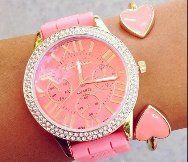 jewels style watch gogolush fashion fabulous pink