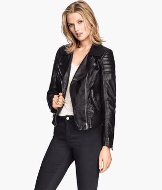 jacket black jacket leather leather jacket black leather jacket spiked leather jacket