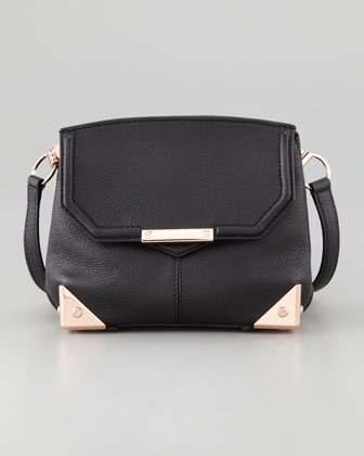 Alexander Wang Marion Crossbody Bag, Black/Rose Golden - Neiman Marcus