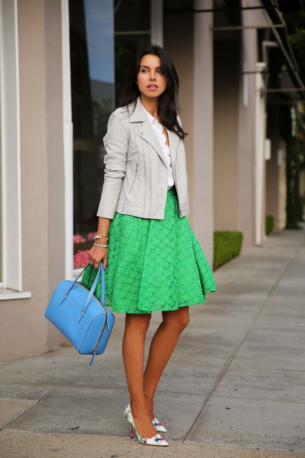 viva luxury skirt bag jacket shoes jewels