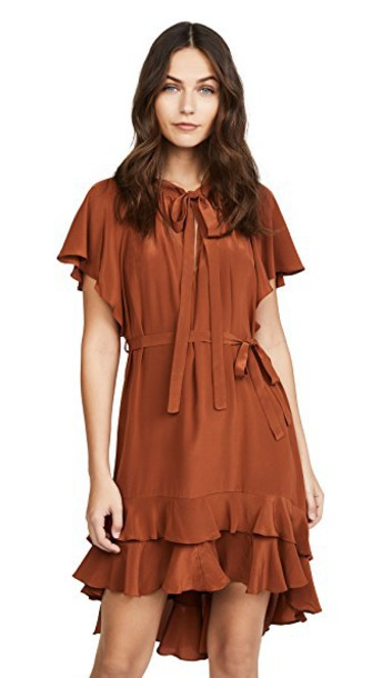 Zimmermann dress smock dress bronze