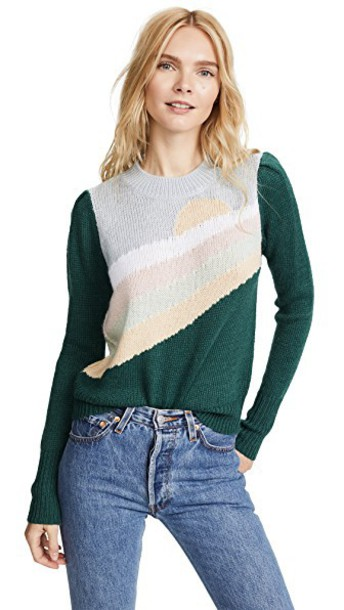 Wildfox sweater green