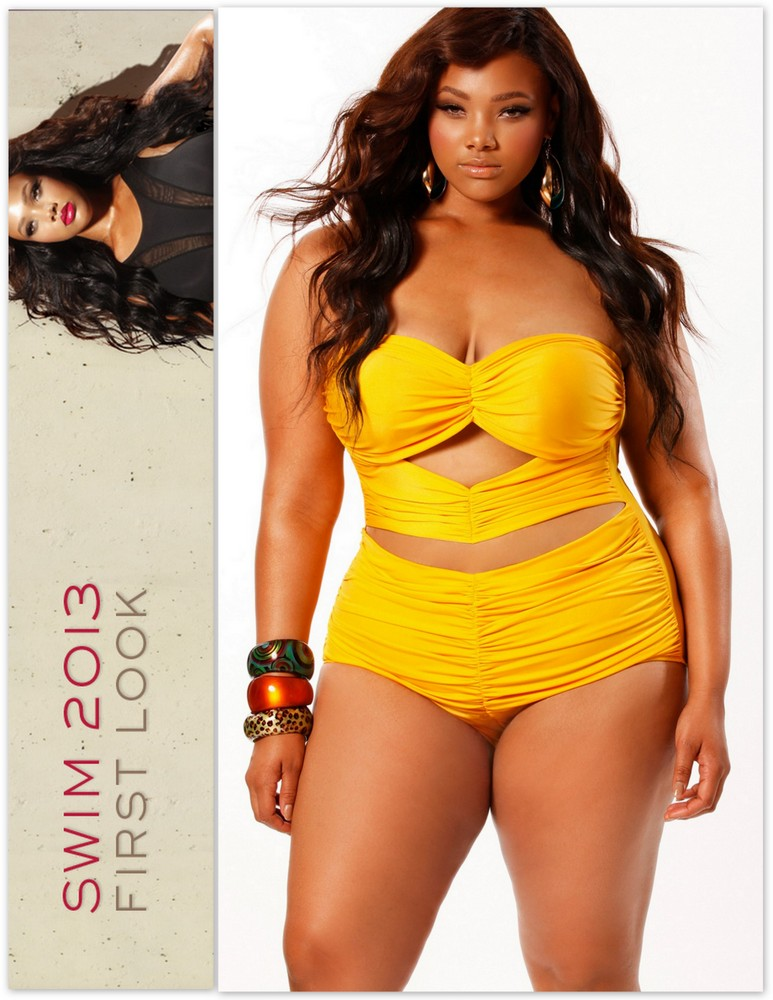 Plus Size Swimwear: Sexy Swim with Monif C Plus Sizes