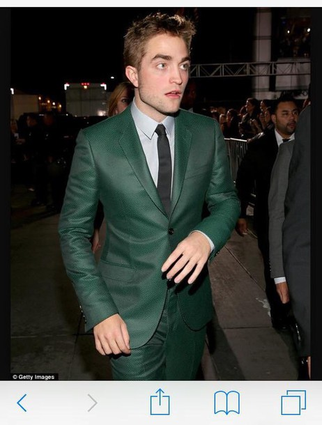 jacket gucci green suit