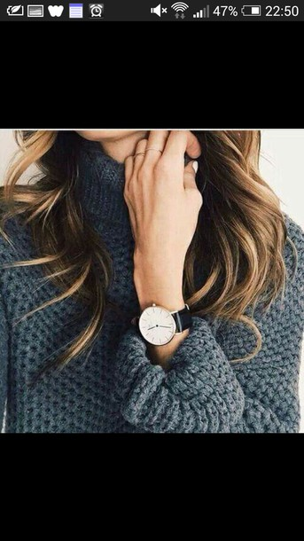 sweater grey knitted sweater grey knit grey mock neck high neck sweater charcoal colour thick turtle neck