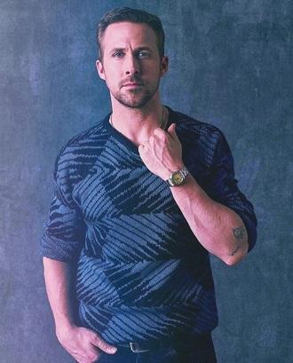sweater menswear ryan gosling celebrity