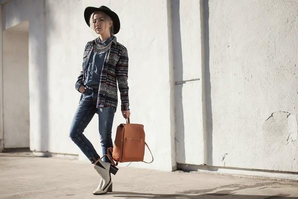 feral creature blogger jeans