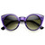 Womens Chic Retro Round Circle Cat Eye Sunglasses 8978                           | zeroUV