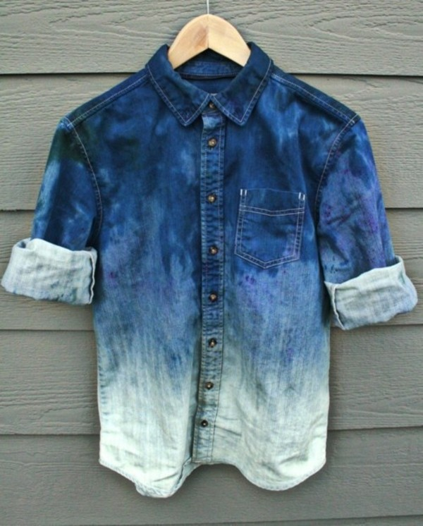 shirt denim shirt denim t-shirt blue shirt blouse blue jeans sky blue menswear mens shirt
